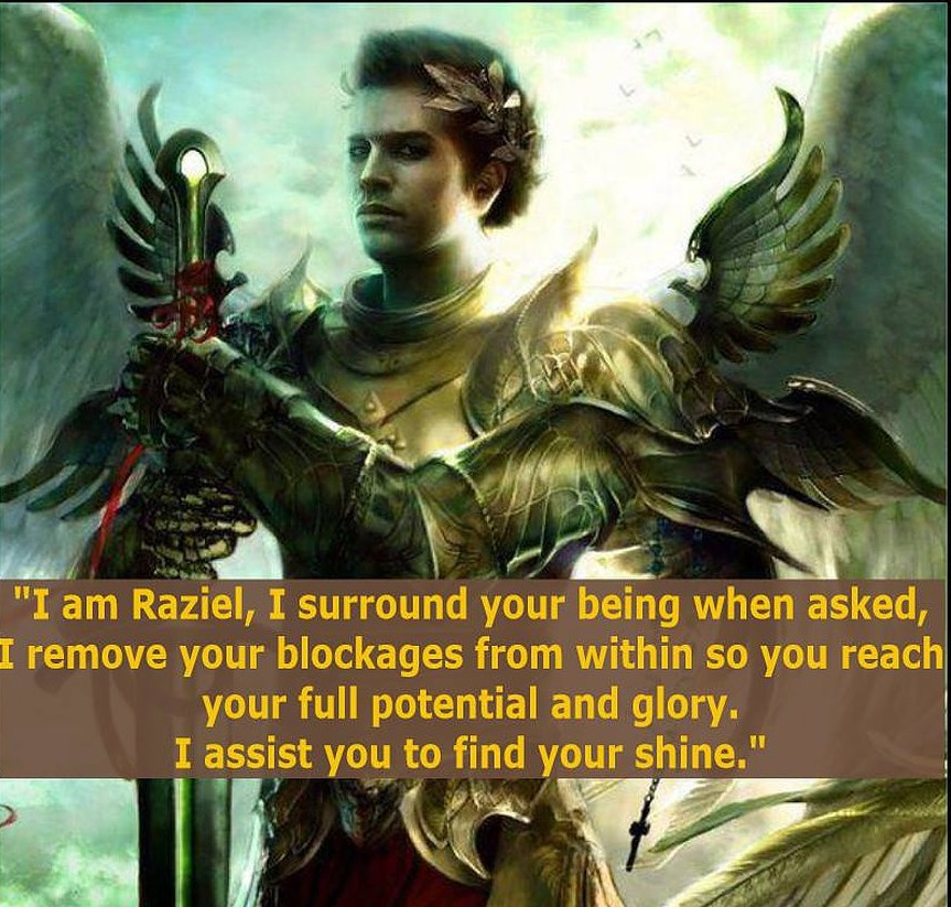 Channeled message from Archangel Raziel – Allow your desires