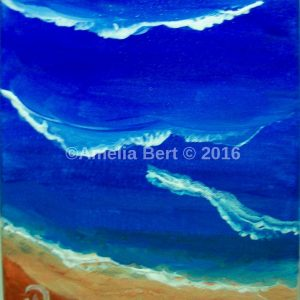 Peaceful waves Canvas