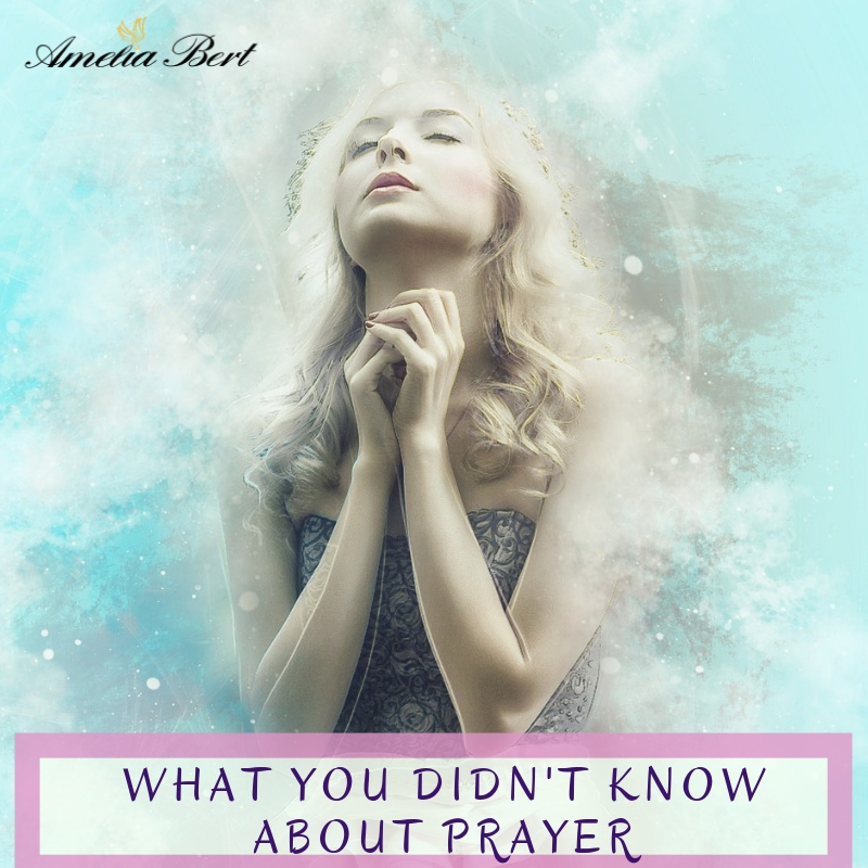 What you didn't know about prayer