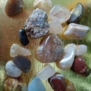 set of 20 special small gemstones
