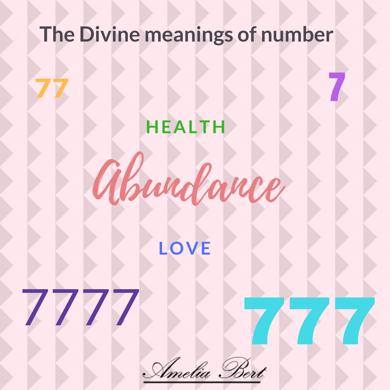 7777 Divine Number - Ameliabert com