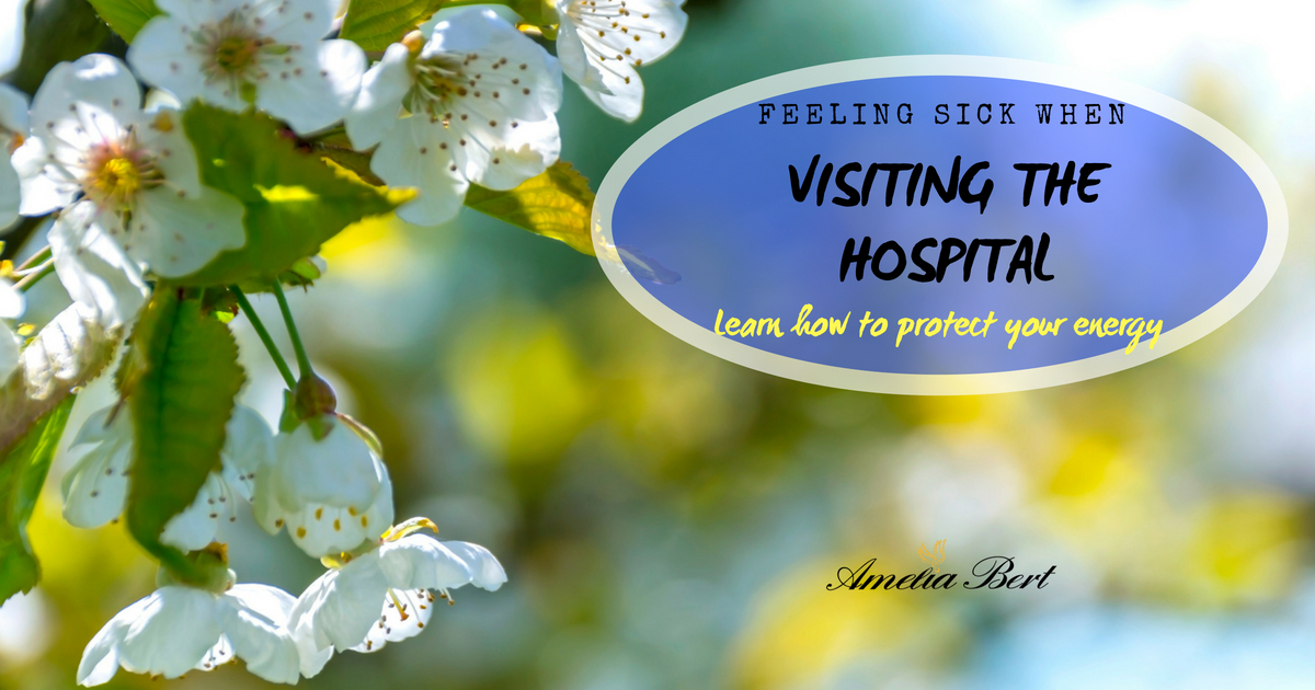 Feeling sick when visiting hospitals?