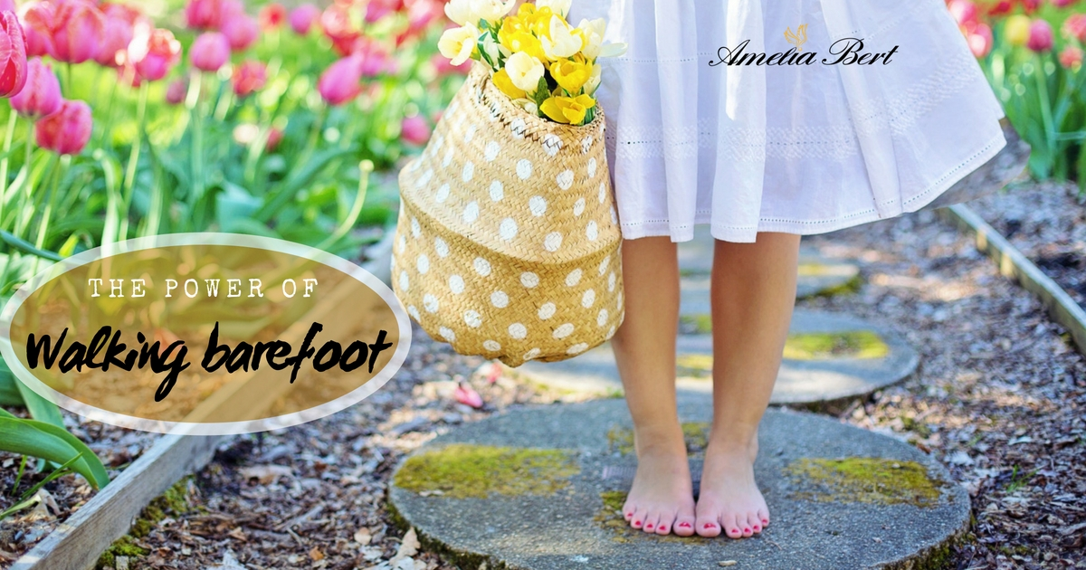 The Power of walking barefoot