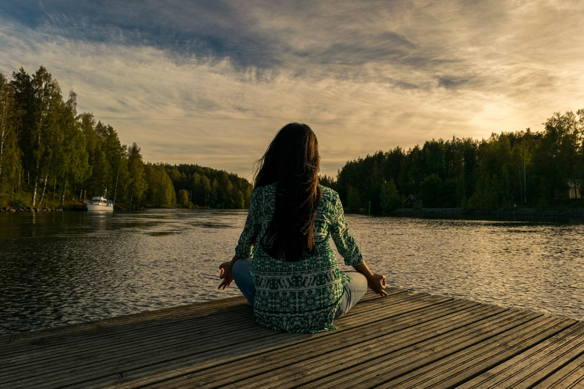 fall asleep or can't concentrate in meditation?