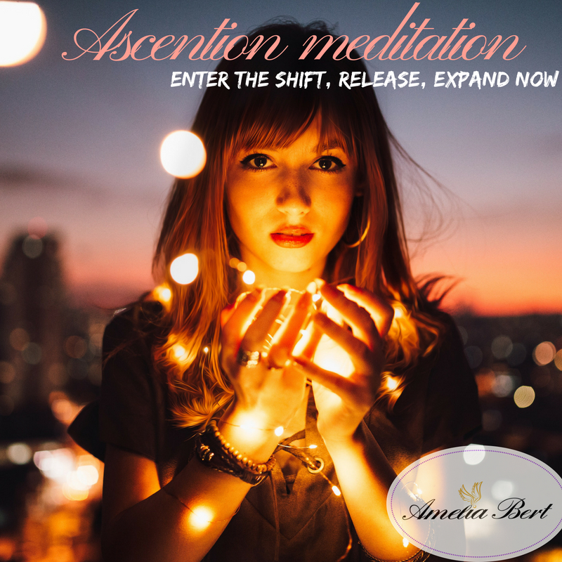 Powerful meditation: enter the shift, release, expand NOW