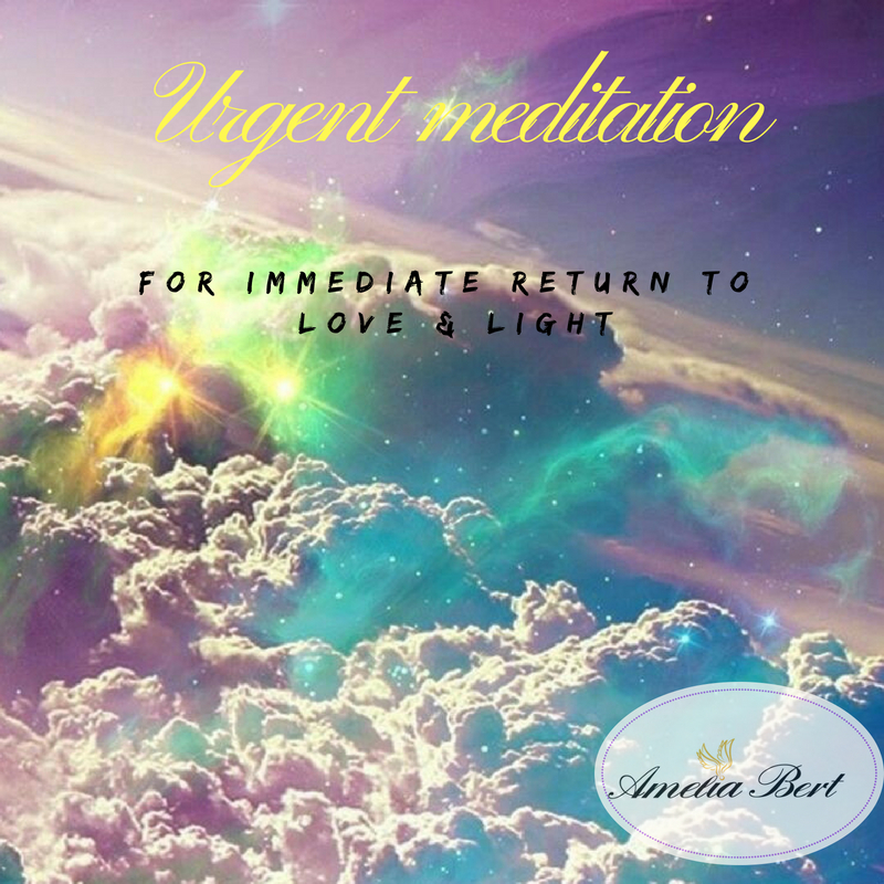 Feel good now free meditation, return to love & light