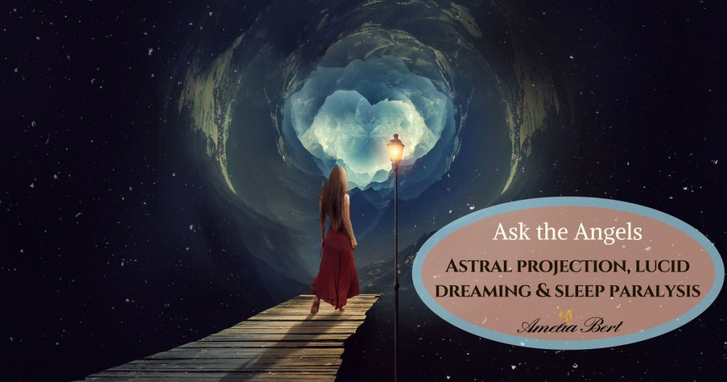 Ask the angels: Astral projection, lucid dreaming, and sleep