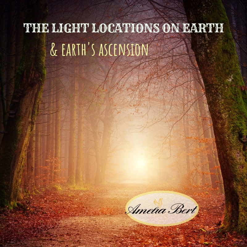 Light locations on earth