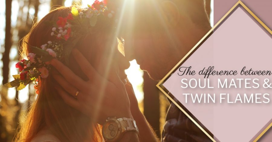 The difference between soul mates & twin flames