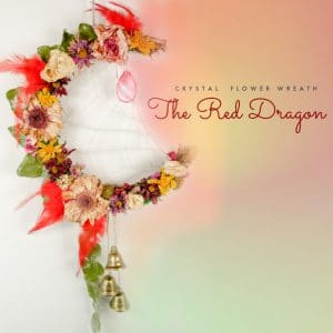 The Red Dragon Wreath