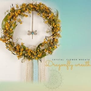 The Dragonfly Wreath