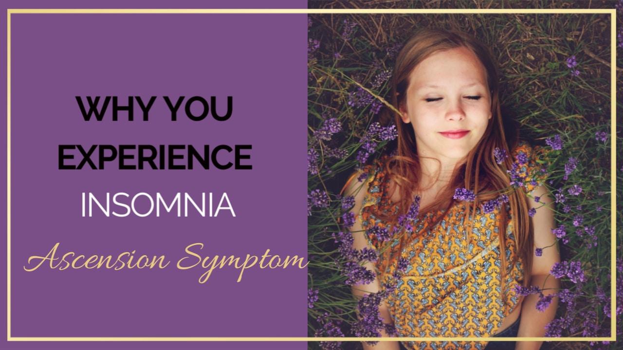 Insomnia – Ascension symptom explained