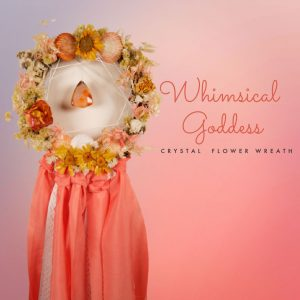 Whimsical Goddess – Flower Wreath