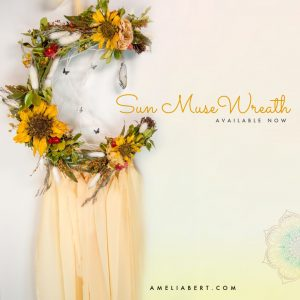 Sun Muse Moon Wreath
