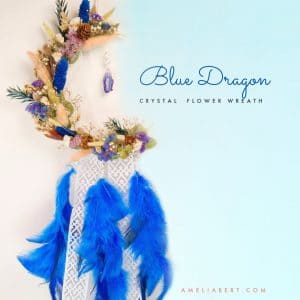 Blue Dragon Wreath