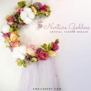 Nurture Goddess Moon Wreath