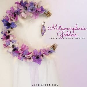 Metamorphosis Goddess Moon Wreath