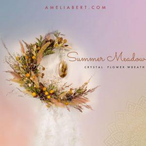 Summer Meadow Moon Wreath