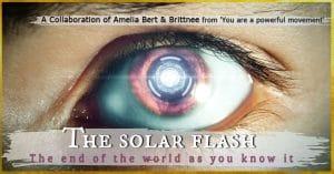 the solar flash event
